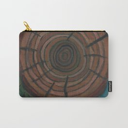 Tree Ring Carry-All Pouch