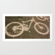 Rain Shadow Art Print