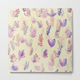 pink glitch nature Metal Print
