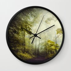 Glorious Woods Wall Clock