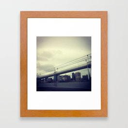 on.line Framed Art Print