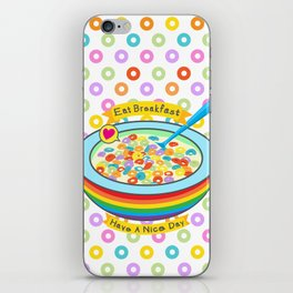 Eat Breakfast! iPhone Skin