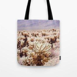 Chollo Cactus Garden - Joshua Tree Tote Bag