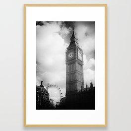 Elements of London V Framed Art Print