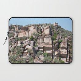 Unusual Rock Formations Near Cine Laptop Sleeve