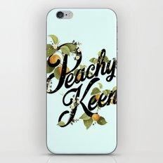 Peachy Keen : Mint iPhone & iPod Skin