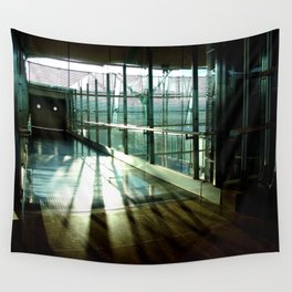 Boarding shadows Wall Tapestry