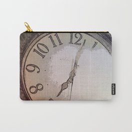 The Wall Clock Carry-All Pouch