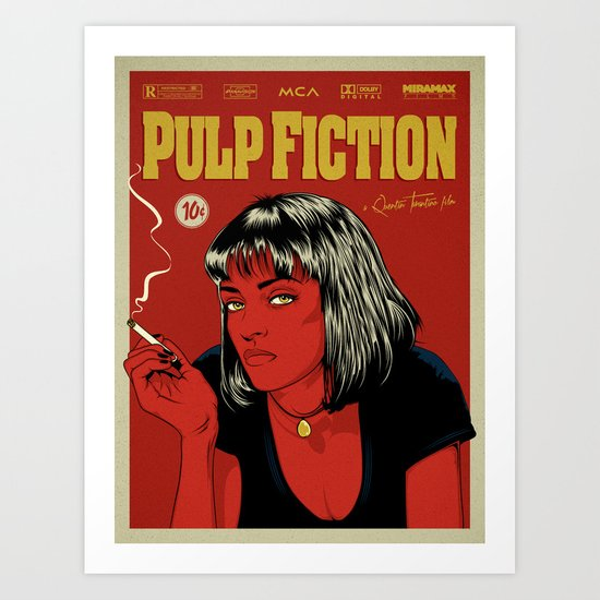 P. F. Art Print