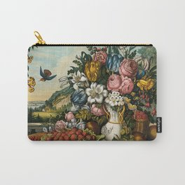 Landscape, Fruit and Flowers Carry-All Pouch