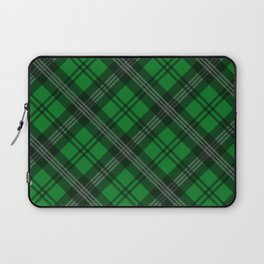 Scottish Plaid-Green Laptop Sleeve