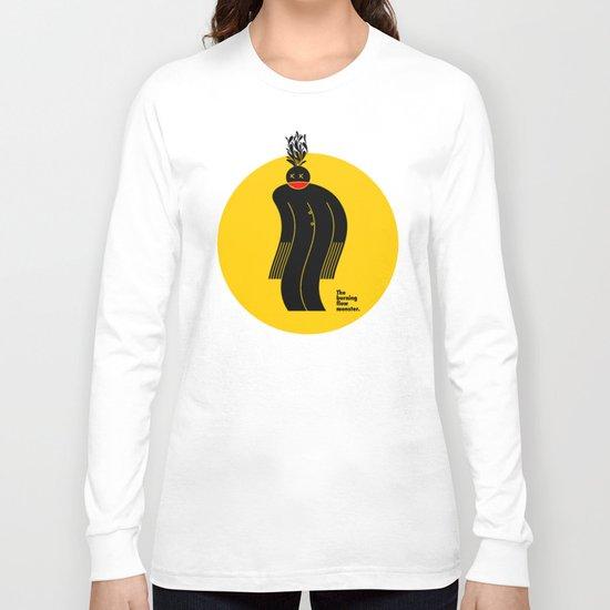 The Burning Flow Monster Long Sleeve T-shirt