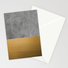Concrete x Gold Stationery Cards