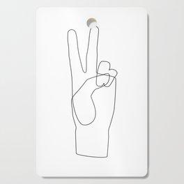 Peace Cutting Board