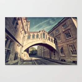 Bridge of sighs - Oxford Canvas Print