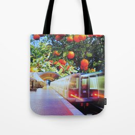 Citrus Express Tote Bag