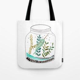 Narwhal in a jar Tote Bag