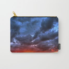 Angry Sunset Carry-All Pouch