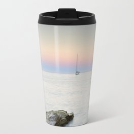 """SuperMoon At Plomo Beach"" Travel Mug"