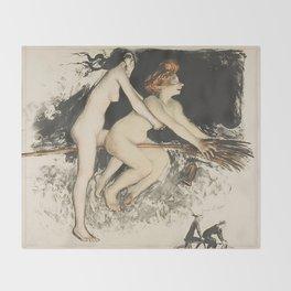 WITCHES - JEAN VEBER  Throw Blanket
