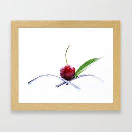 Cherrie Framed Art Print