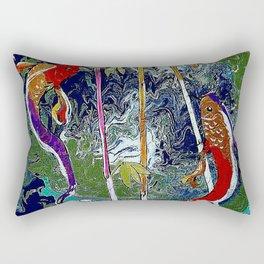 TRANQUIL KOI Rectangular Pillow
