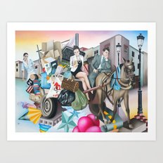 My Trash is Better than Yours Art Print