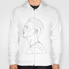 side portrait  Hoody