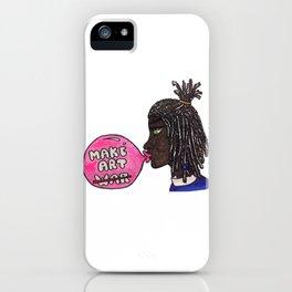 A Bubble Gum Narrative iPhone Case