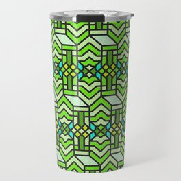 Op Art 122 Travel Mug