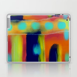 Colorful Abstract Digital Painting Laptop & iPad Skin