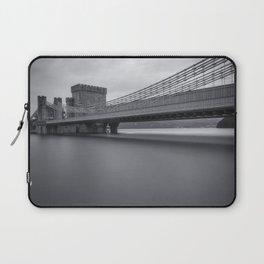 Conwy Suspension Bridge Laptop Sleeve