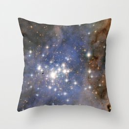 Star Cluster Trumpler 14 Throw Pillow