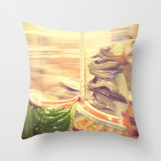 Merry-go-round from our youth Throw Pillow