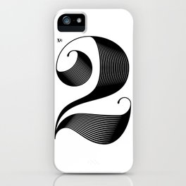 No. 2 iPhone Case