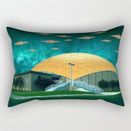 gold dome mothership Rectangular Pillow