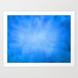 Blue Jean Sky Art Print