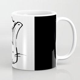 Rabbit Cooks Portrait Coffee Mug