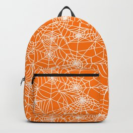 Pumpkin Cobwebs Backpack