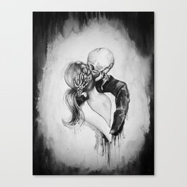 Dead to Me Canvas Print