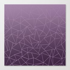 Ombre Ab Plum Canvas Print