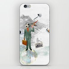 soccer man iPhone & iPod Skin