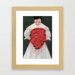 Blood Wedding Framed Art Print