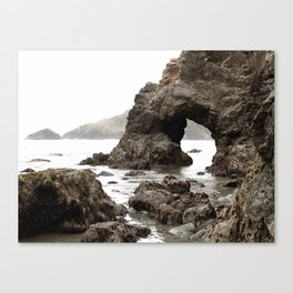 Low Tide Length by Jessi Fikan in Color Canvas Print