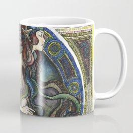 """Under the Sea - A Mermaid"", by Fanitsa Petrou Coffee Mug"