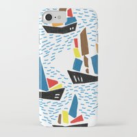 boats iPhone & iPod Cases featuring boats by frameless