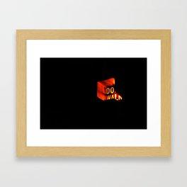 DO WALK Framed Art Print