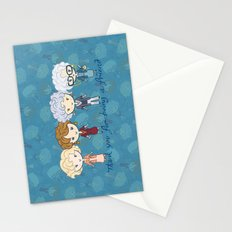 thank you for being a friend Stationery Cards