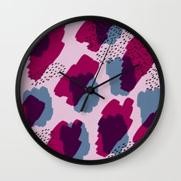 marshmallows in the sky Wall Clock