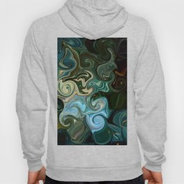 Goddess of Nature Abstract Hoody